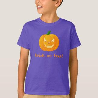 T-shirt do Dia das Bruxas dos miúdos