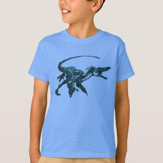 T-shirt do dinossauro de Deinonychus