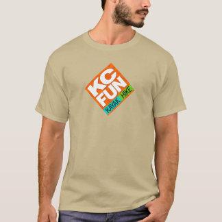 T-shirt do DIVERTIMENTO do KC - grande logotipo