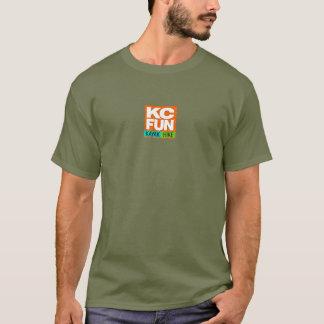 T-shirt do DIVERTIMENTO do KC - parte dianteira