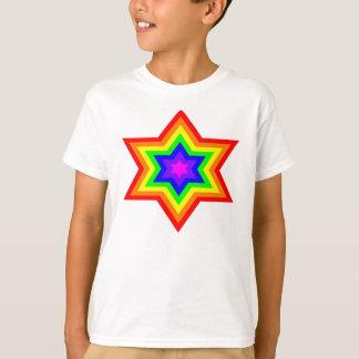 T-shirt do EcoSmart dos meninos brilhantes de