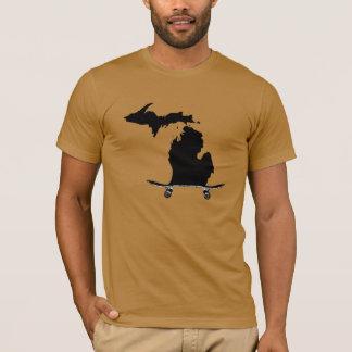 T-shirt do estado do skate