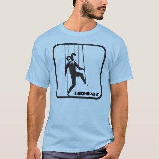 T-shirt do fantoche do palhaço dos liberais