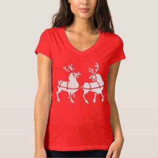 T-shirt do feriado das mulheres das camisas da