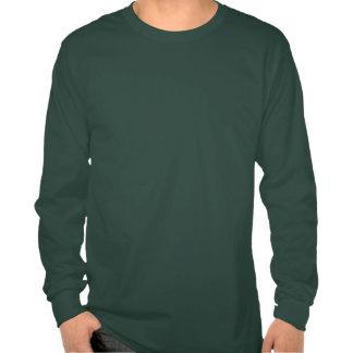 T-shirt do feriado dos homens do papai noel do