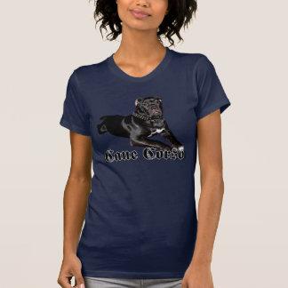 T-shirt do filhote de cachorro de Corso do bastão