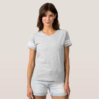 T-shirt do futebol das mulheres