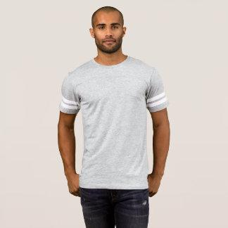 T-shirt do futebol dos homens
