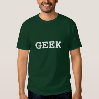 T-shirt do geek