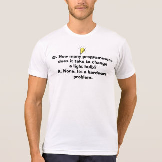 T-shirt do geek do programador