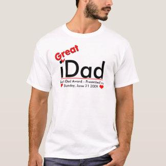 t-shirt do iDad - o melhor prêmio do iDad