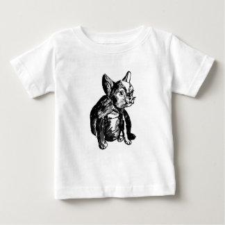 T-shirt do jérsei da multa do bebê do desenho do