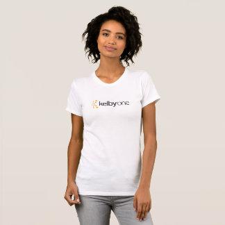 T-shirt do KelbyOne das mulheres (luz)