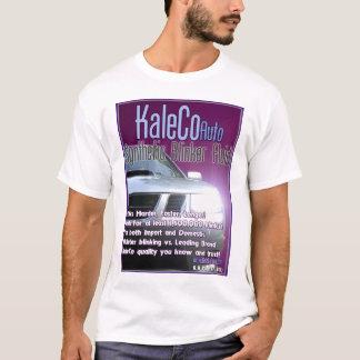 T-shirt do líquido do farol intermitente