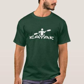 T-shirt do logotipo do caiaque
