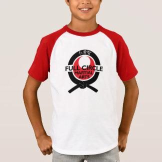 T-shirt do logotipo do esporte dos miúdos
