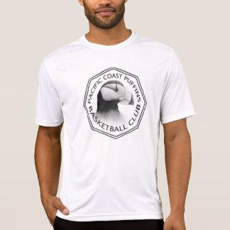 T-shirt do logotipo dos homens