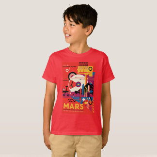 T-shirt do Marte dos miúdos