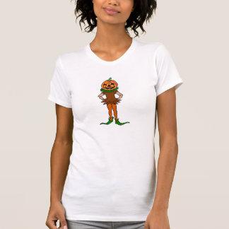 T-shirt do menino da abóbora