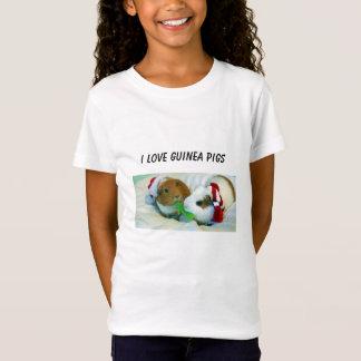 T-shirt do Natal da cobaia
