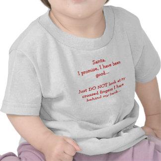 T-shirt do Natal da criança