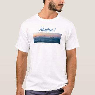 T-shirt do navio de cruzeiros de Alaska