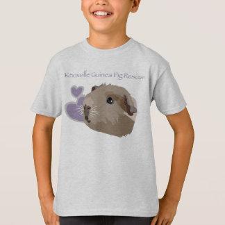 T-shirt do oficial do salvamento da cobaia de