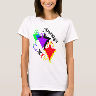 T-shirt do orgulho de Amazigh