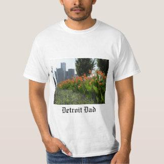 T-shirt do pai de Detroit
