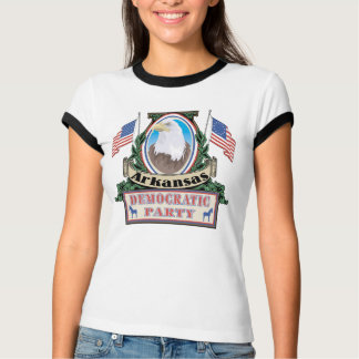 T-shirt do partido de Arkansas Democrata