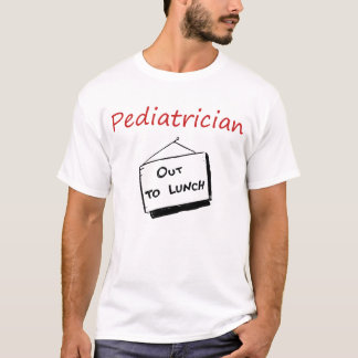 T-shirt do pediatra