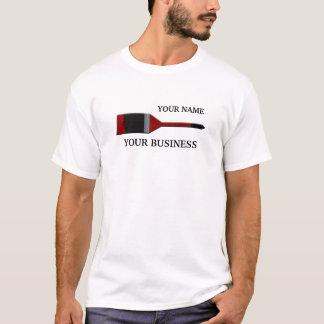 T-shirt do pincel do pintor