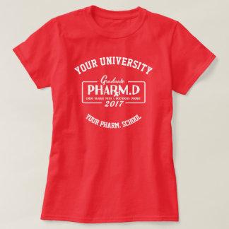T-shirt do presente da graduação da escola da