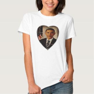T-shirt do presidente Barack Obama