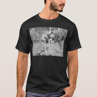 T-shirt do pugilista e do bloodhound