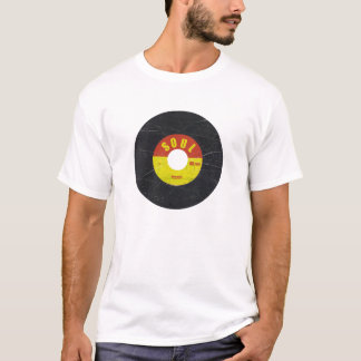 t-shirt do registro da alma 7-Inch
