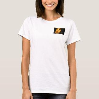 T-shirt do retrato do golden retriever