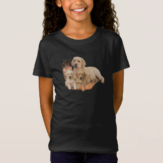 T-shirt do retriever de Labrardor