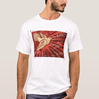 T-shirt do suporte de Musica do la de Viva