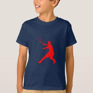 T-shirt do tênis para o sportswear dos miúdos dos
