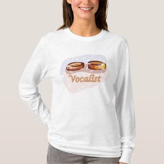 T-shirt do vocalista do casamento