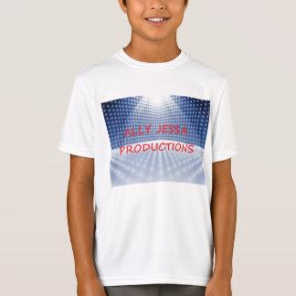 T-shirt Dobro-Seco do jérsei das produções de