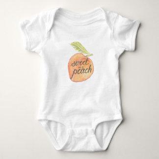 T-shirt Doce como um pêssego Onsie