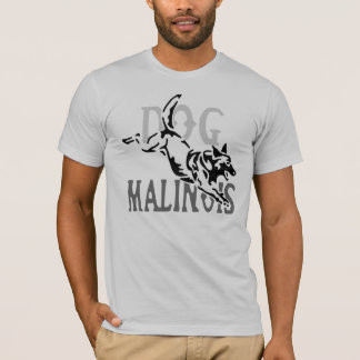 t-shirt dog malinois cavalo