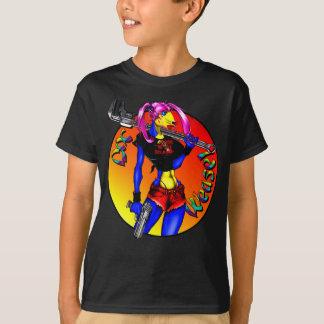 T-shirt Doninhas da chave de DWB