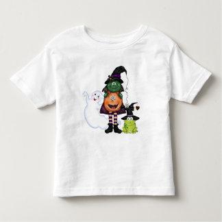 T-shirt dos amigos do Dia das Bruxas