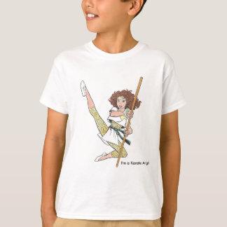 T-shirt dos anjos do karaté