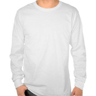 T-shirt dos homens do feriado do papai noel do