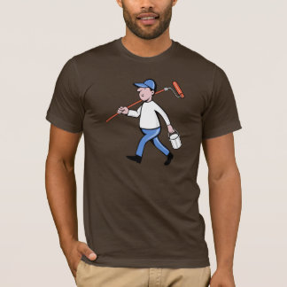 T-shirt dos homens do pintor