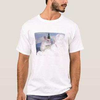 T-shirt Dos homens imperiais da chinchila do feiticeiro do